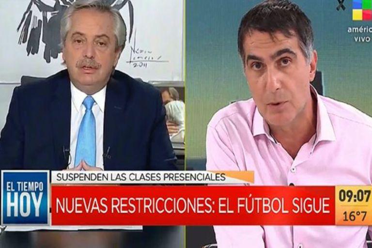 """Tras los anuncios presidenciales, Antonio Laje dedicó un duro editorial a Alberto Fernández: """"Siento vergüenza ajena"""", señaló"""