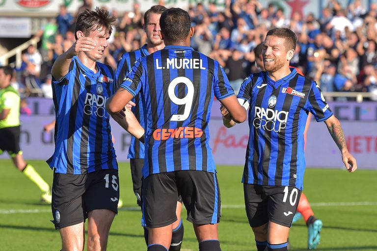 Atalanta asombra a Italia: un 7-1 que sufrieron dos jugadores de la selección