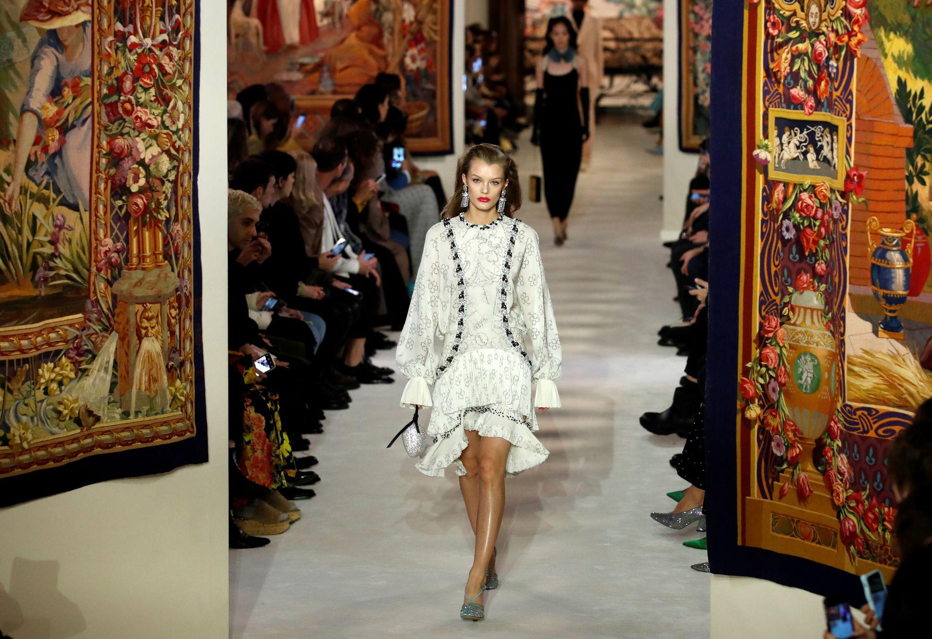 Colección de Bruno Sialelli para Lanvin, en París Fashion Week 2020