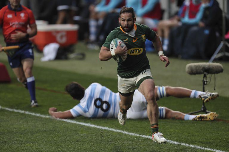 Dura caída de Los Pumas: en el debut en el Rugby Championship, Sudáfrica  fue muy superior y ganó por 32-12 - LA NACION