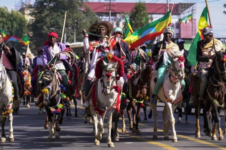 Cada año se celebra un desfile para conmemorar la Batalla de Adwa: en marzo pasado se conmemoró el 125 aniversario