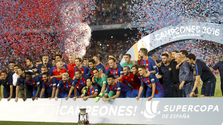 El festejo del campeón con acento catalán