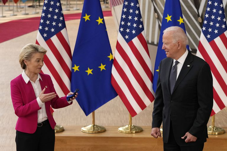 Con China en la mira, EE.UU. y la UE sellan una tregua en la disputa entre Airbus y Boeing
