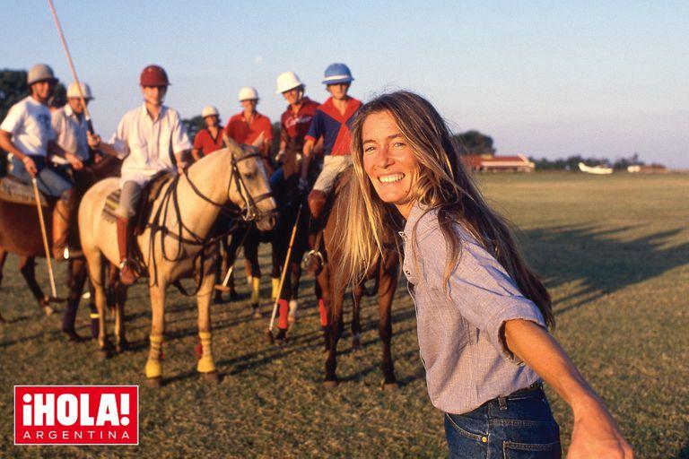 En el campo, su lugar feliz. En los últimos años de su vida, Susan se dedicó a producir documentales y editó un libro sobre polo, con fotos espectaculares y prologado por el príncipe Carlos.