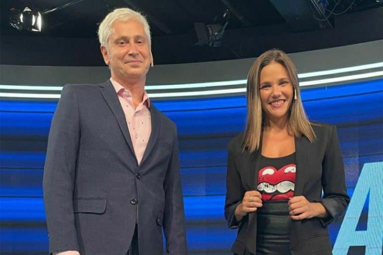Junto a Luciana Rubinska, Juan Di Natale conducirá Sobredosis de TV en C5N