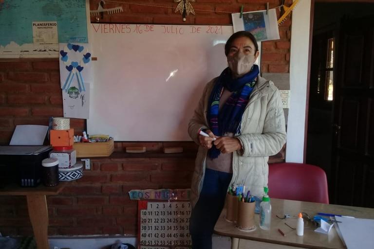 Josefa Pepa Luna tiene 66 años, nació, se crió y estudió en Quimilí