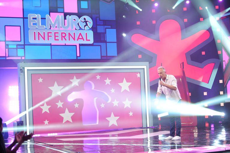 Marley regresa con el El Muro Infernal, el programa que condujo hace once años. A partir de esta noche, vuelve a la pantalla de Telefe de lunes a viernes a las 21.15