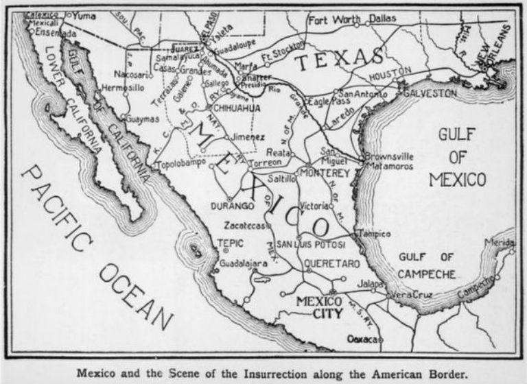 Las tropas estadounidenses entraron al país por diferentes frentes
