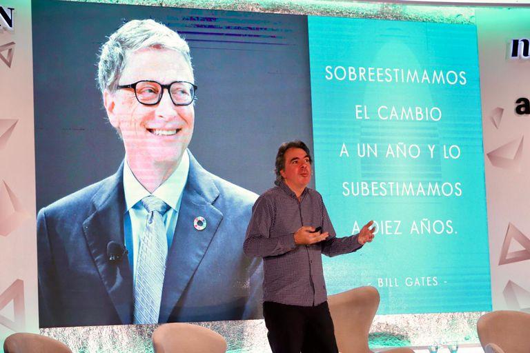 Sebastián Campanario habló sobre innovación en el evento Negocios del Futuro