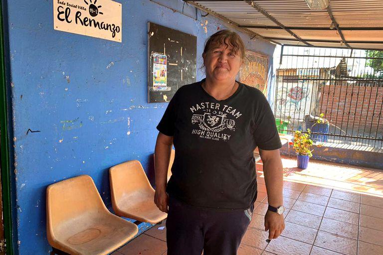 Sara Basili vive hace 35 años en La Pintana