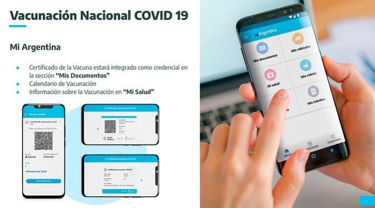 """La herramienta está disponible en la app """"Mi Argentina"""""""