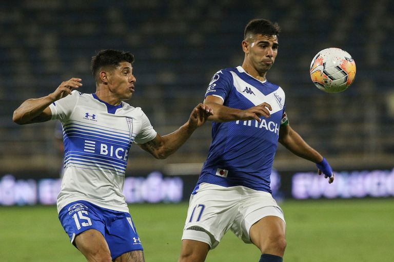 Vélez Sarsfield derrotó por 3-1 a la Universidad Católica en el partido de vuelta de los cuartos de final de la Copa Sudamericana