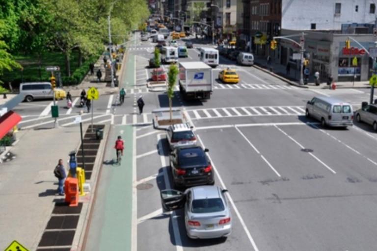 Uno de los modelos utilizados para el proyecto en Buenos Aires fue el de New York, Estados Unidos