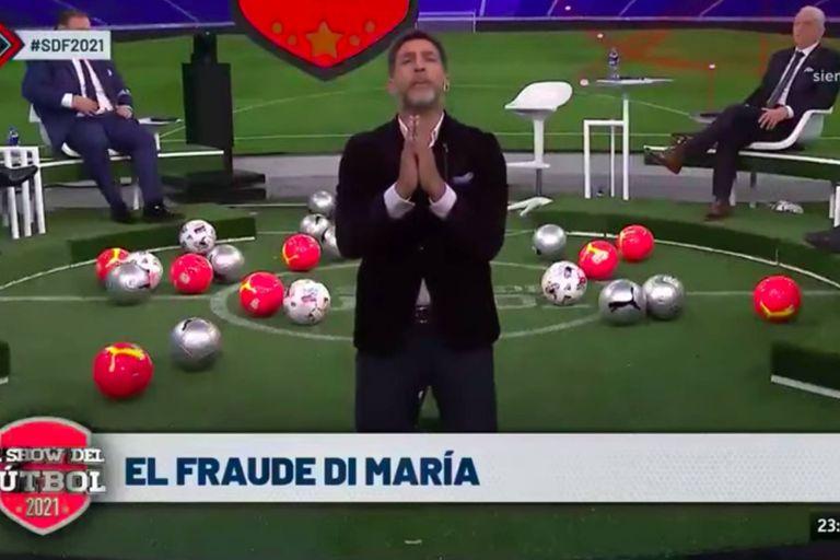 """""""El fraude Di María"""". Así fue el polémico editorial de Pasman"""