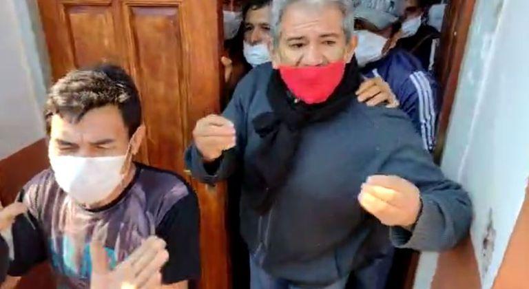 Incidentes en el Concejo Deliberante de Santa Ana.
