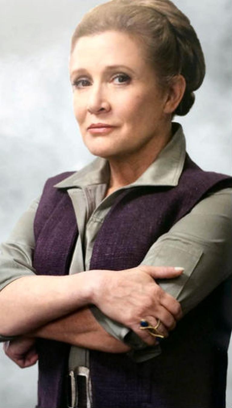 Carrie Fisher, siempre en el recuerdo
