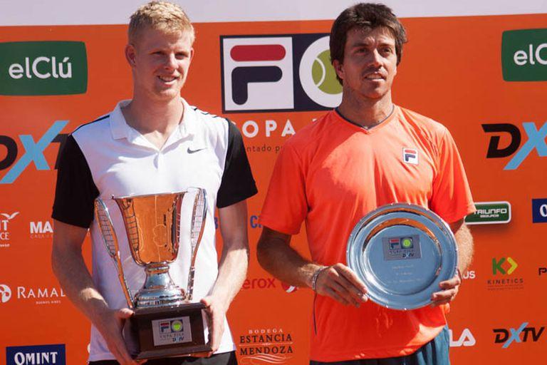 Edmund venció en la final del torneo de Buenos Aires a Charly Berlocq