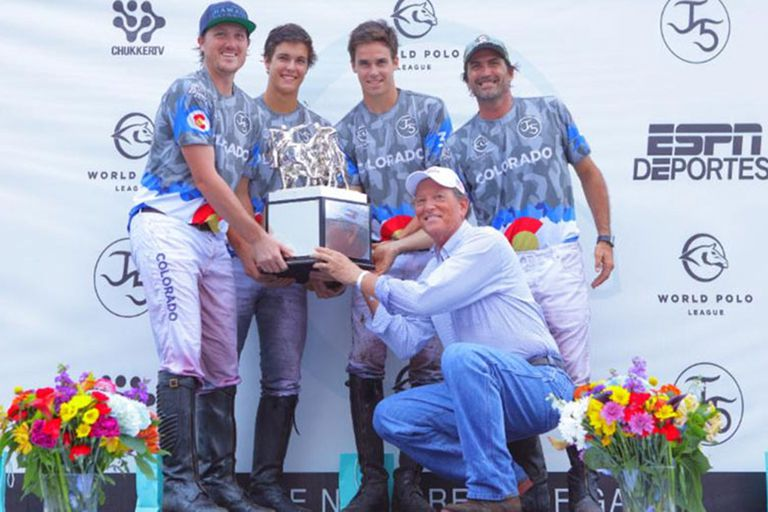 Bob Jornayvaz y un premio en la World Polo League, su reciente creación