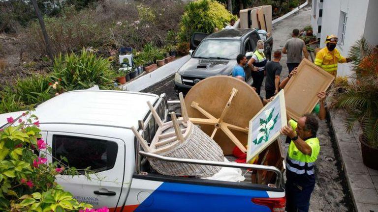 Cerca de 6000 personas fueron evacuadas por la actividad volcánica