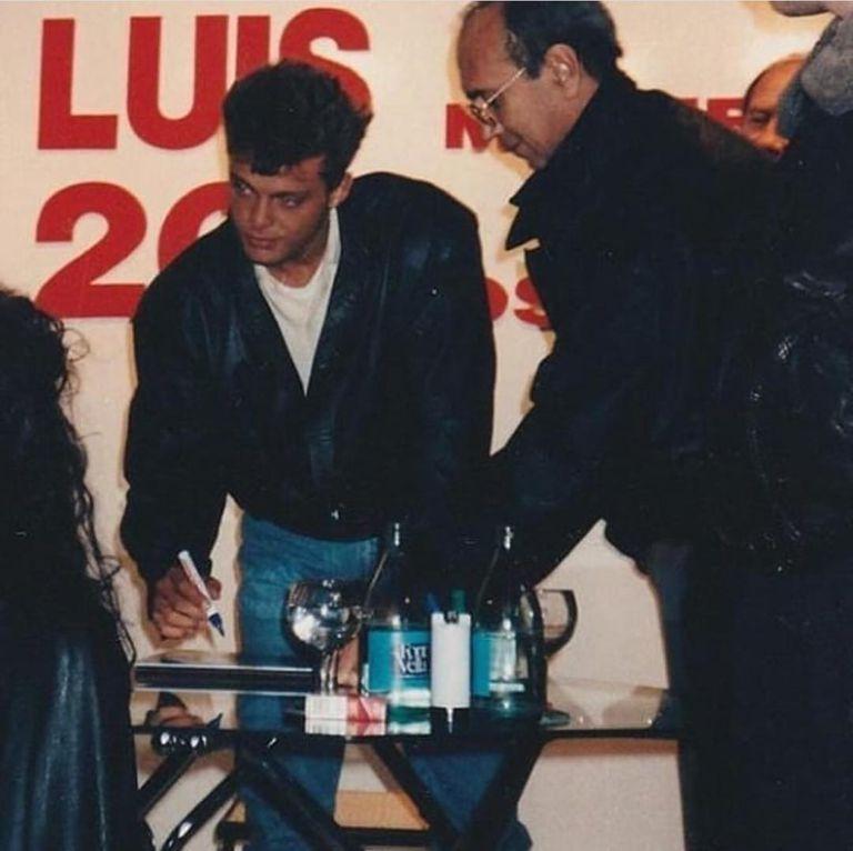 El argentino Hugo López fue el representante de Luis Miguel hasta su muerte, en noviembre de 1993