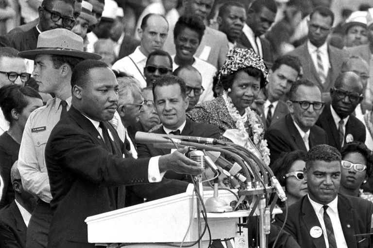Martin Luther King nació un 15 de enero de 1929