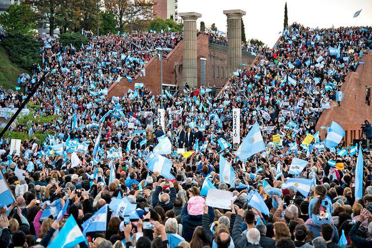Marcha Sí se puede en Rosario