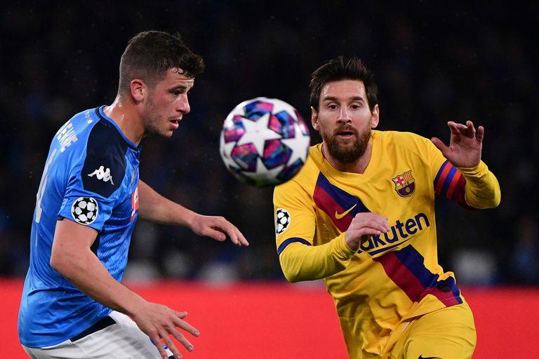 Partidos de la Champions League: cómo ver EN VIVO Barcelona-Napoli