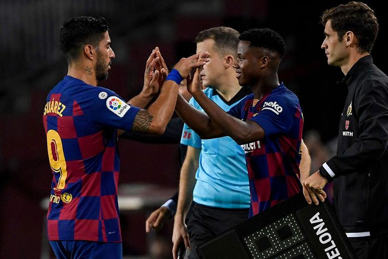 Sale Suárez, entra Ansu Fati: por qué Barcelona, Atlético y Messi salen ganando