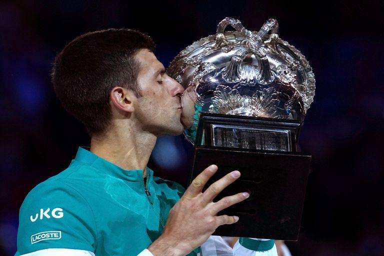 Djokovic, campeón de Australia: el serbio conquistó su 18° título de Grand Slam