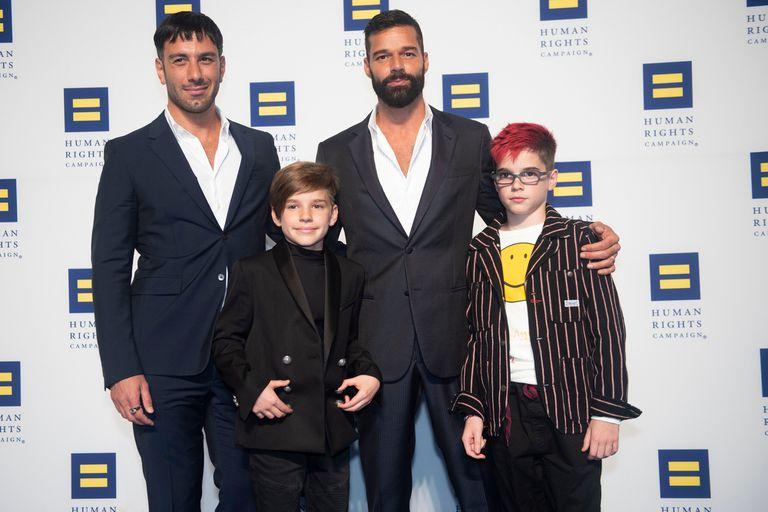 Ricky Martin fue papá nuevamente y así dio la noticia