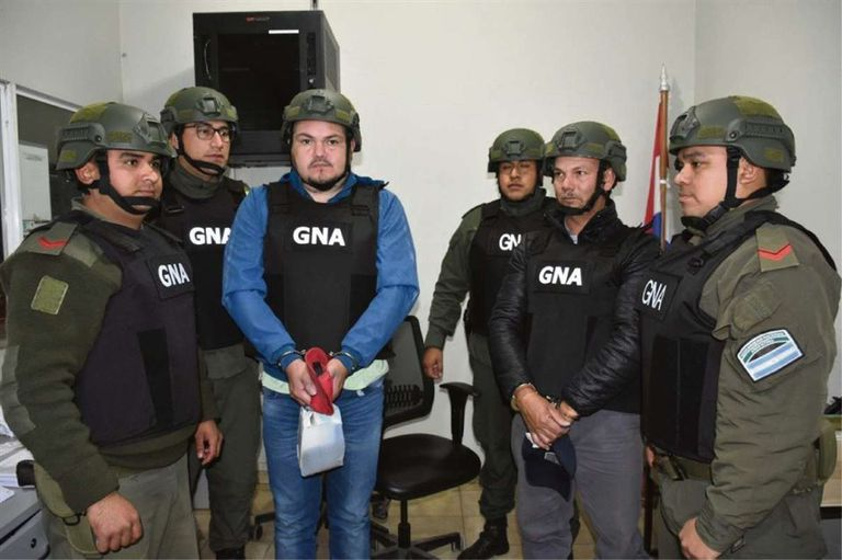 Luis Salcedo fue detenido en Paraguay en septiembre de 2019, y entregado a la Gendarmería para ponerlo a disposición de la Justicia Argentina