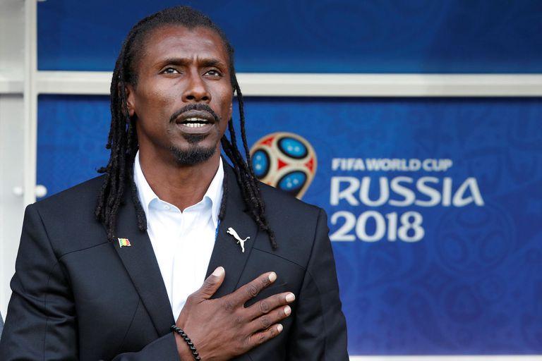 DT de Senegal Aliou Cisse