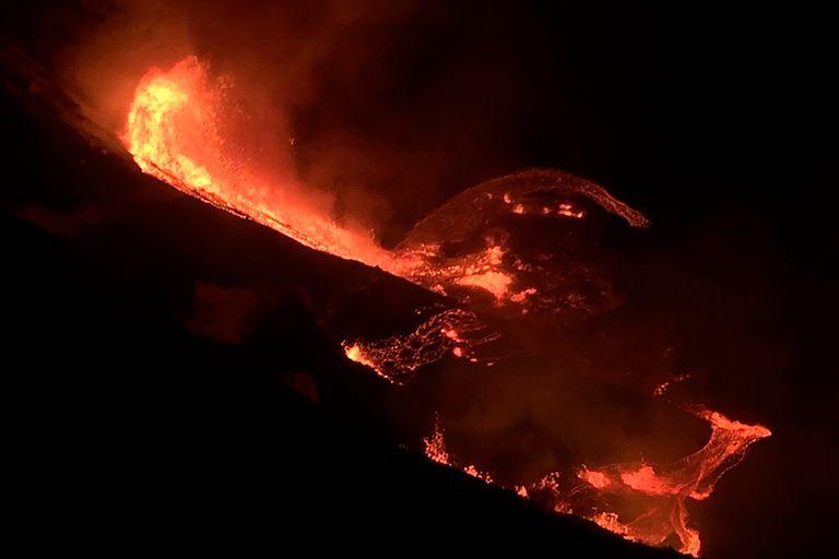 Fotos impactantes: el volcán Kilauea entró en erupción y causa temor en Hawaii