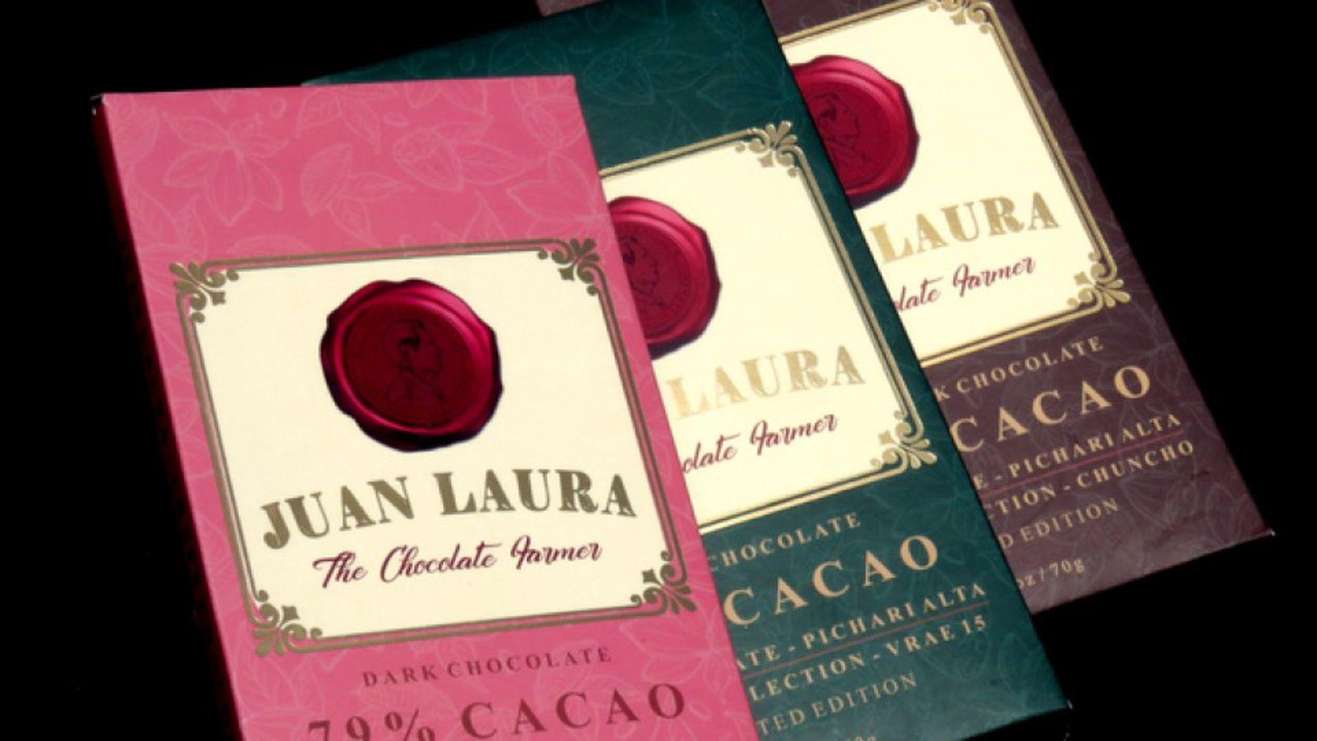 La marca de chocolates en honor al padre que se animó a cultivar una tierra destrozada por la coca
