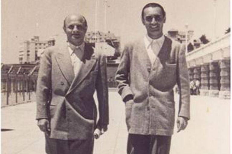 Ladislao Biro y su socio Juan Meyne, cuyos apellidos combinados dieron el nombre al invento: birome