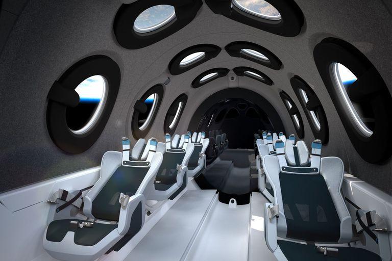 Pueden viajar hasta 6 pasajeros y cada viaje cuesta 250.000 dólares