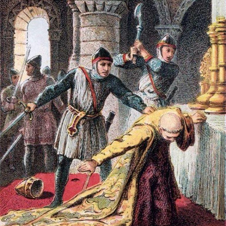 No se pudo saber nunca si el asesinato del Arzobispo de Canterbury fue ordenado por Enrique II o no