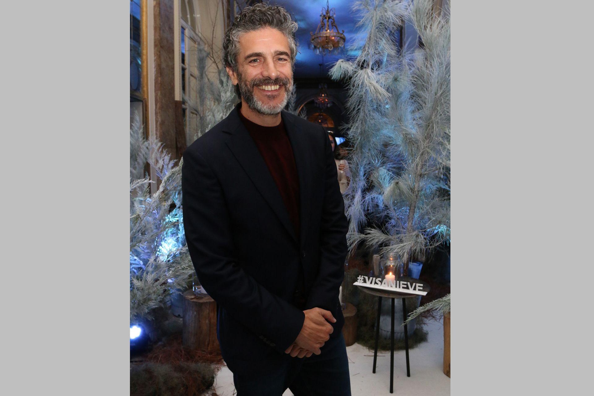 El protagonista de la más reciente película de Pedro Almodóvar, Leonardo Sbaraglia, se divirtió con la gélida propuesta