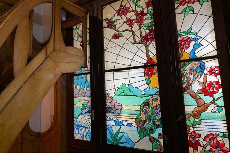Los vitrales se conservan originales