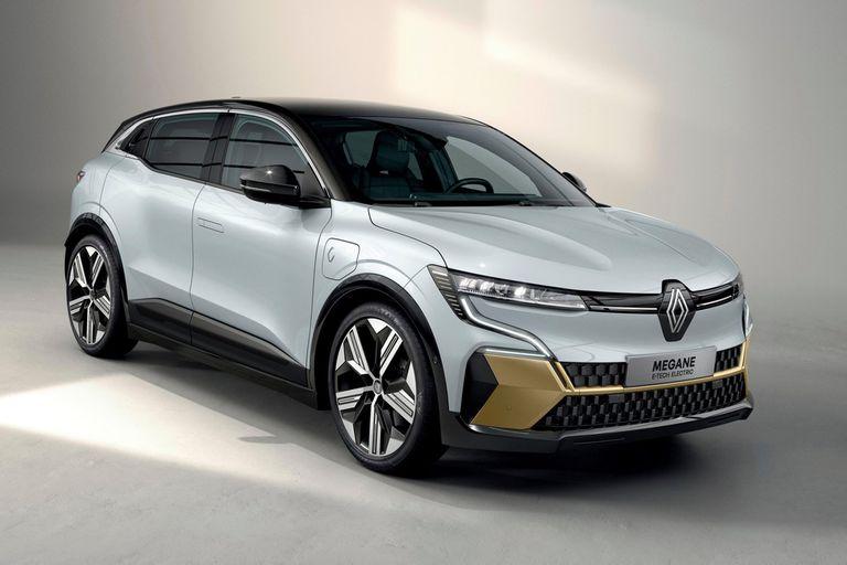 Renault Mégane E-Tech Electric. La primera versión de la gama 100% eléctrica, una de las estrellas del salón, no solo rompe el molde con la impulsión, sino también con la silueta: estilo SUV en vez de mediano deportivo