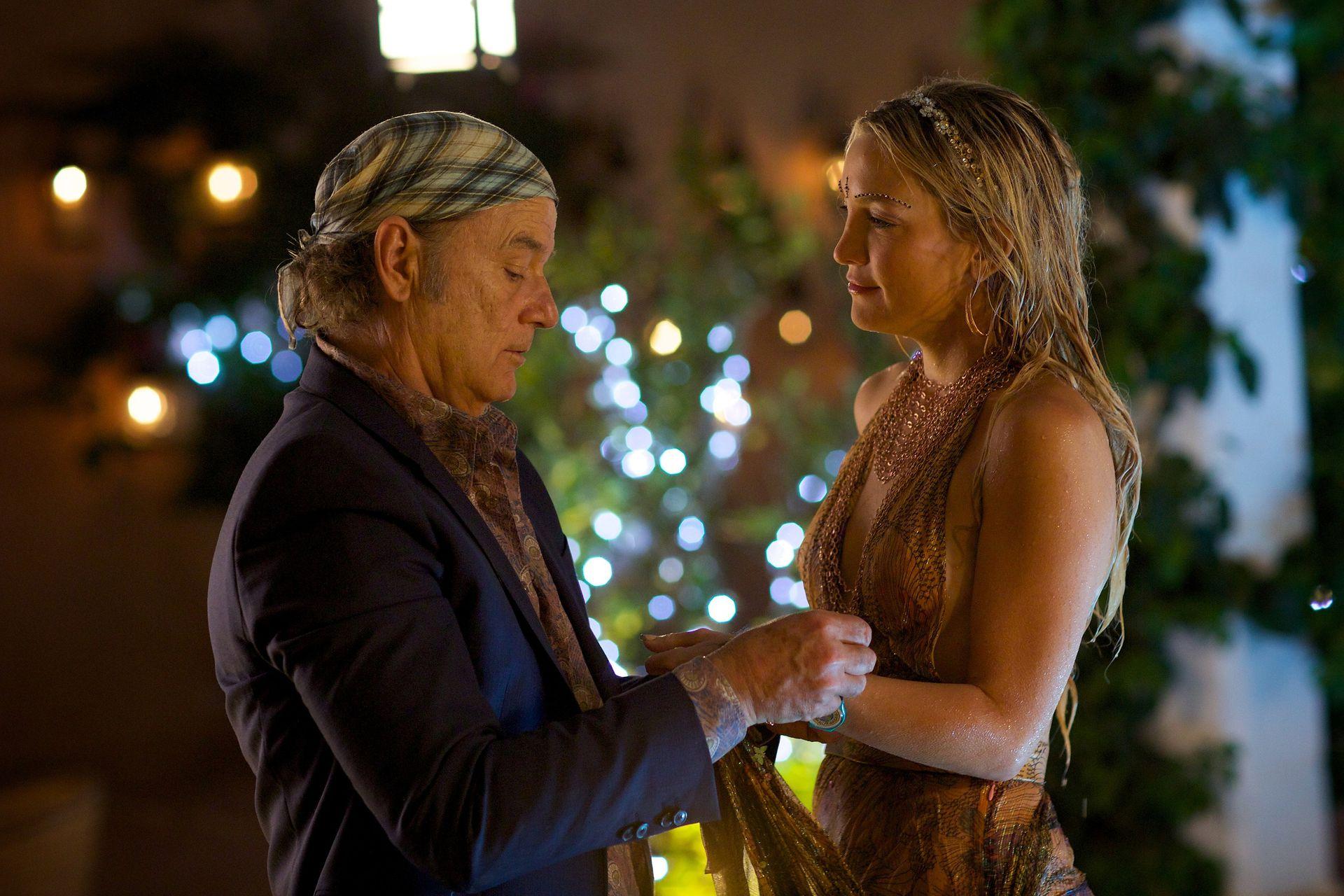 Kate Hudson y Bill Murray en Rock in the Kasbah