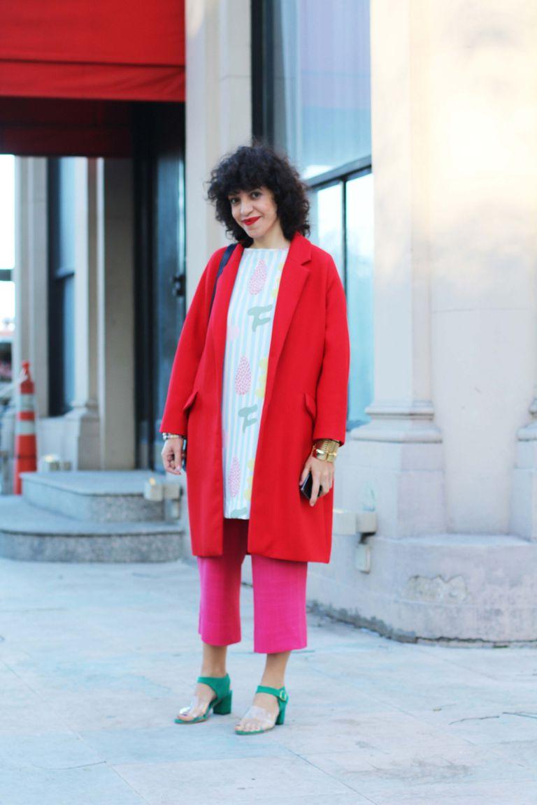 Lucila Iotti en Fashion Meets