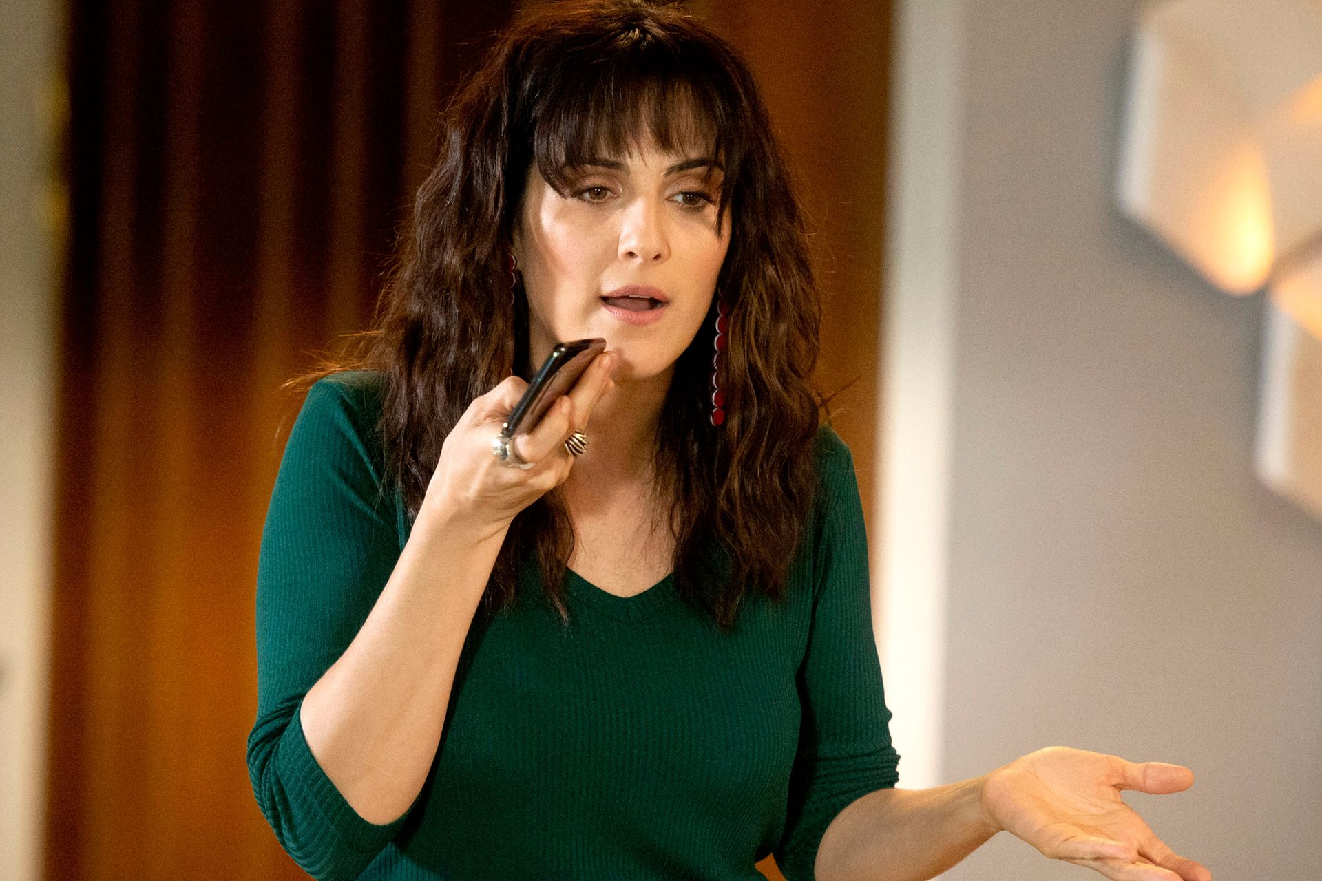 Julieta Díaz en el rol de Jazmín, una ejecutiva exitosa que subrogó -de manera clandestina- el vientre de Bárbara (Natalie Pérez) para poder ser madre