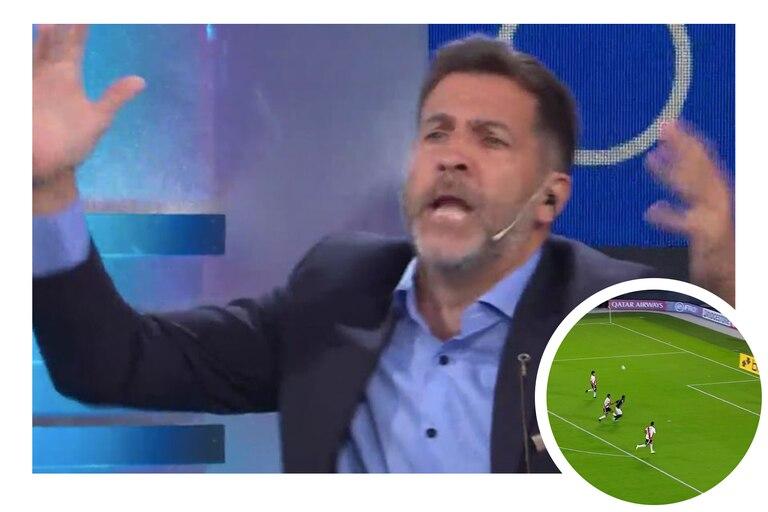 """Copa Vespucio Liberti"": la furia de Toti Pasman por River - Junior"
