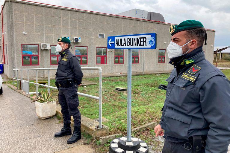 Juicio a la Mafia calabresa en Italia