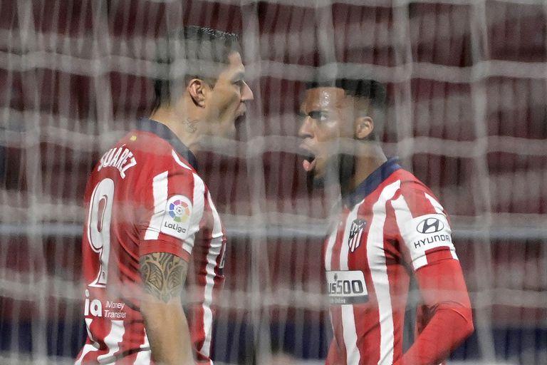 Siempre Suárez: otro golazo y un récord para darle el triunfo al Cholo Simeone