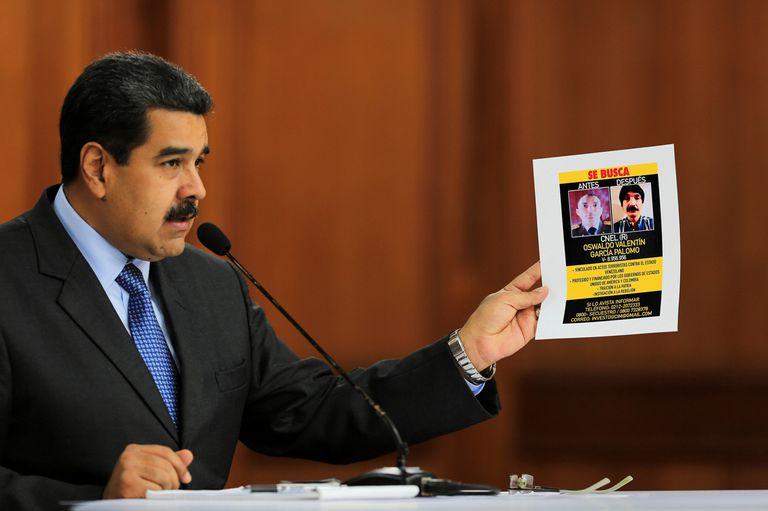 """Maduro insiste con el supuesto atentado: """"Fue un ataque de asesinos a sueldo"""""""