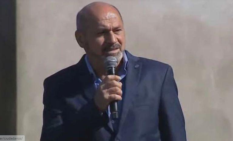 Las críticas le llovieron al intendente de Ensenada, Mario Secco, después de usar una frase de Galtieri en un acto. Fuente: Archivo LN