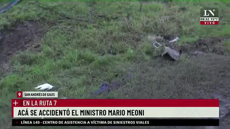 Avanza la investigación sobre el accidente en el que murió Mario Meoni: el lugar exacto en la Ruta 7