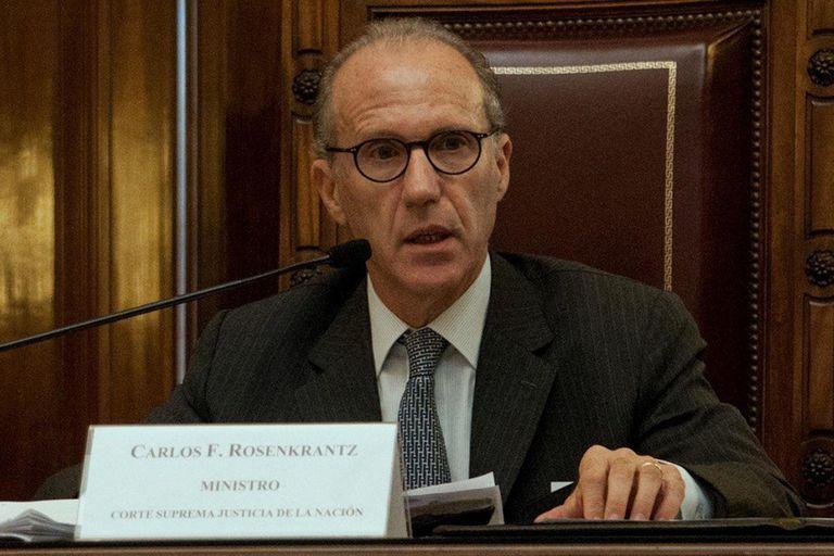 """Carlos Rosenkrantz: """"El rol del presidente de la Corte no es armar mayorías"""""""